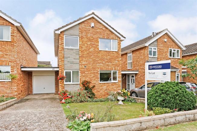 £1,500 per Calendar Month, 3 Bedroom Detached House To Rent in Bourne End, SL8