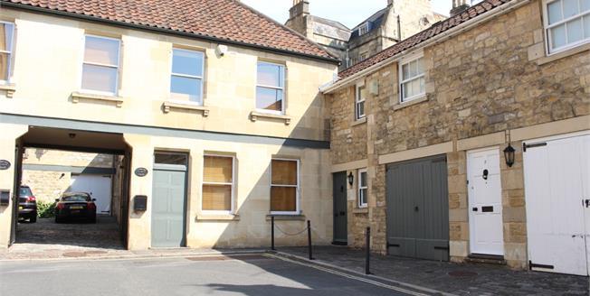 £1,500 per Calendar Month, 2 Bedroom Mews House To Rent in Bath, BA1