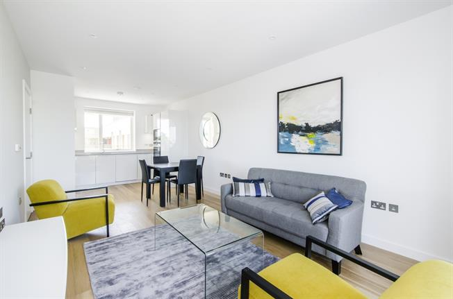 £1,967  per Calendar Month (Calculated), 1 Bedroom Apartment To Rent in London, SW11