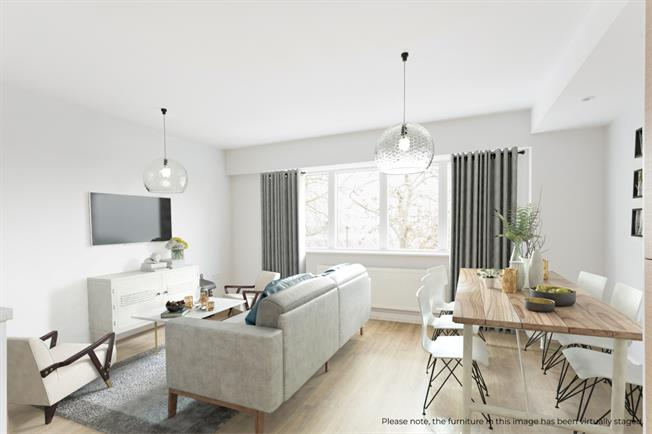 £2,296  per Calendar Month (Calculated), 1 Bedroom Apartment To Rent in Shepperton, TW17