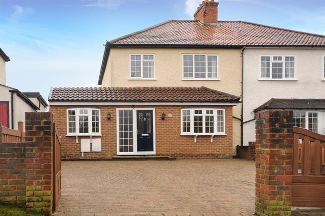£1,900 per Calendar Month, 3 Bedroom Semi Detached House To Rent in Sevenoaks, TN13
