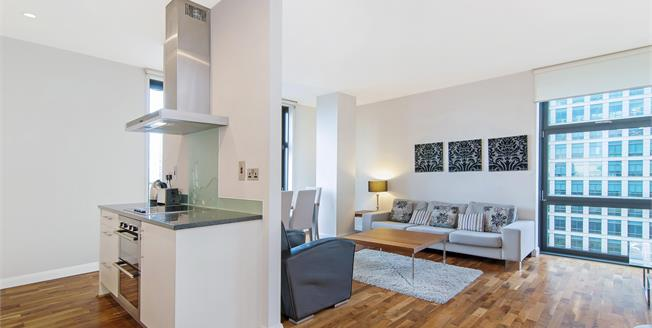 £3,250  per Calendar Month (Calculated), 2 Bedroom Apartment To Rent in London, E14