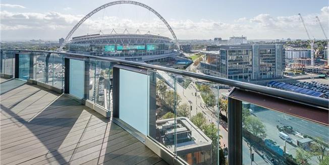 £1,850 per Calendar Month, 2 Bedroom Flat To Rent in Wembley, HA9