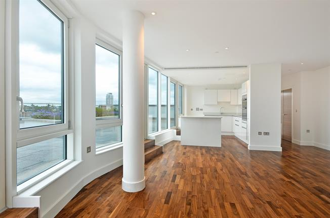 £3,200 per Calendar Month, 3 Bedroom Apartment To Rent in London, SE10
