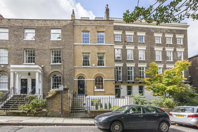 £6,250 per Calendar Month, 6 Bedroom Town House To Rent in London, SE10