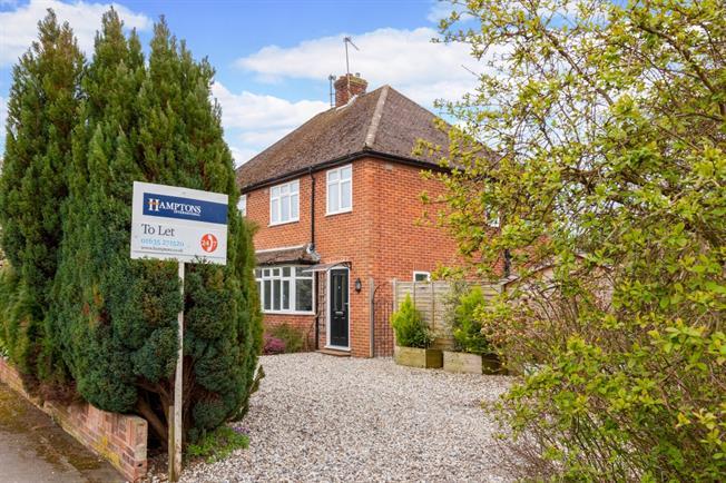 £1,350 per Calendar Month, 3 Bedroom Semi Detached House To Rent in Newbury, RG14