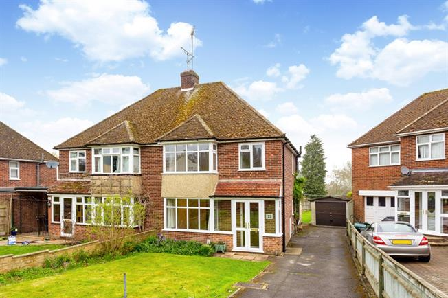 £1,200 per Calendar Month, 3 Bedroom Semi Detached House To Rent in Newbury, RG14