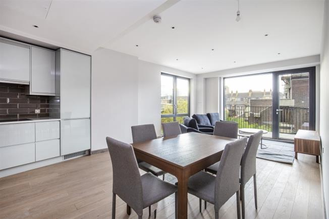 £2,816 per Calendar Month, 3 Bedroom Apartment To Rent in London, SW18