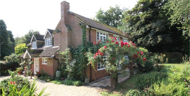 Guide Price £925,000, 5 Bedroom House For Sale in Upper Wield, SO24