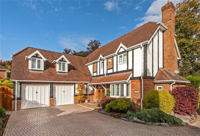 Guide Price £899,950, 5 Bedroom Detached House For Sale in Basingstoke, RG21