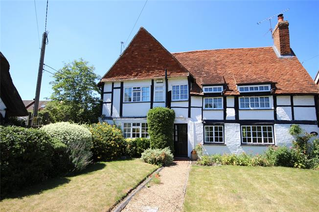 Guide Price £375,000, 2 Bedroom Semi Detached House For Sale in North Warnborough, RG29