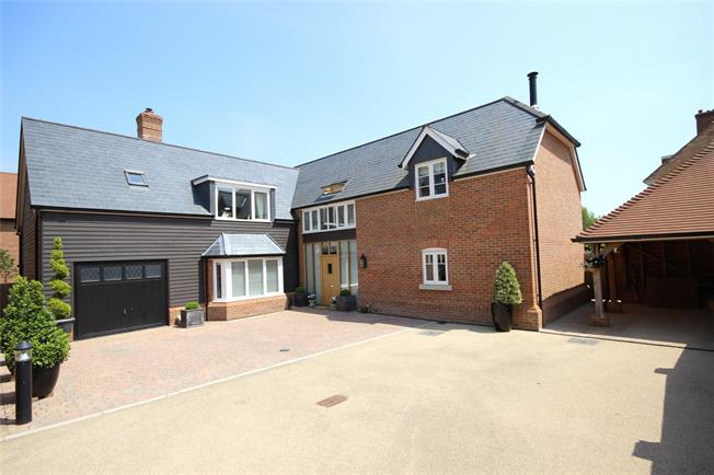 Guide Price £1,195,000, 5 Bedroom Detached House For Sale in Alton, Hampshire, GU34