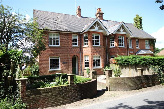 Guide Price £600,000, 4 Bedroom Semi Detached House For Sale in Hampshire, GU35