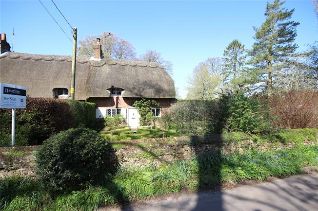 Guide Price £545,000, 2 Bedroom End of Terrace House For Sale in Chawton, GU34