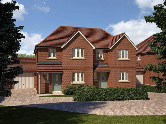 Price on Application, 3 Bedroom Semi Detached House For Sale in Four Marks, GU34