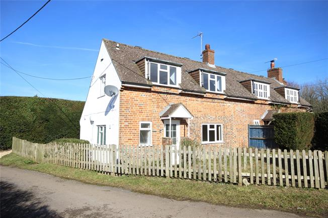 Guide Price £375,000, 2 Bedroom Semi Detached House For Sale in Upper Wield, SO24
