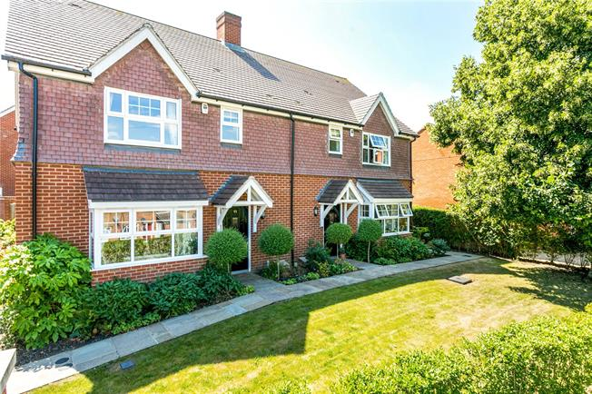 Guide Price £459,950, 3 Bedroom Semi Detached House For Sale in Alton, GU34