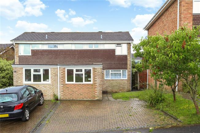 Guide Price £369,950, 4 Bedroom Semi Detached House For Sale in Alton, GU34