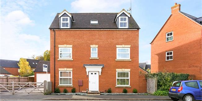 Guide Price £420,000, 5 Bedroom Detached House For Sale in Bloxham, OX15