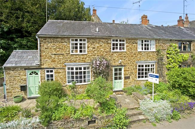Guide Price £265,000, 2 Bedroom Semi Detached House For Sale in Swalcliffe, OX15