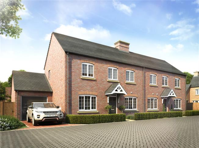 Asking Price £375,000, 3 Bedroom Semi Detached House For Sale in Banbury, Oxfordshire, OX17