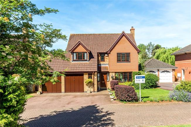 Guide Price £550,000, 5 Bedroom Detached House For Sale in Twyford, OX17