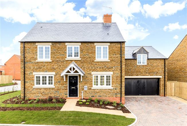 Asking Price £550,000, 4 Bedroom Detached House For Sale in Banbury, Oxfordshire, OX17