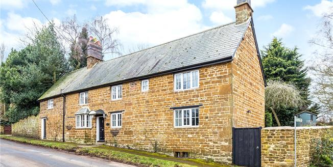 Guide Price £575,000, 4 Bedroom Detached House For Sale in Culworth, OX17