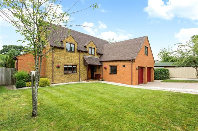 Offers in the region of £800,000, 5 Bedroom Detached House For Sale in Daventry, Northamptonshir, NN11