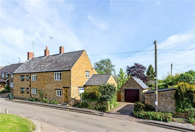 Guide Price £485,000, 3 Bedroom Semi Detached House For Sale in Cropredy, OX17