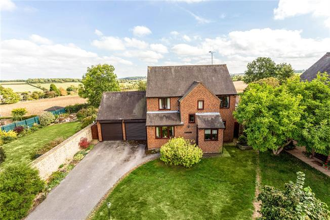 Guide Price £475,000, 3 Bedroom Detached House For Sale in Upper Tadmarton, OX15