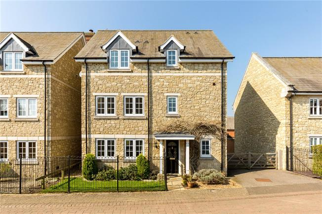 Guide Price £650,000, 4 Bedroom Detached House For Sale in Greatworth, OX17