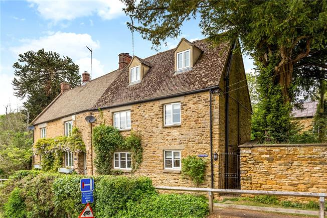 Guide Price £485,000, 3 Bedroom Semi Detached House For Sale in Sibford Gower, OX15