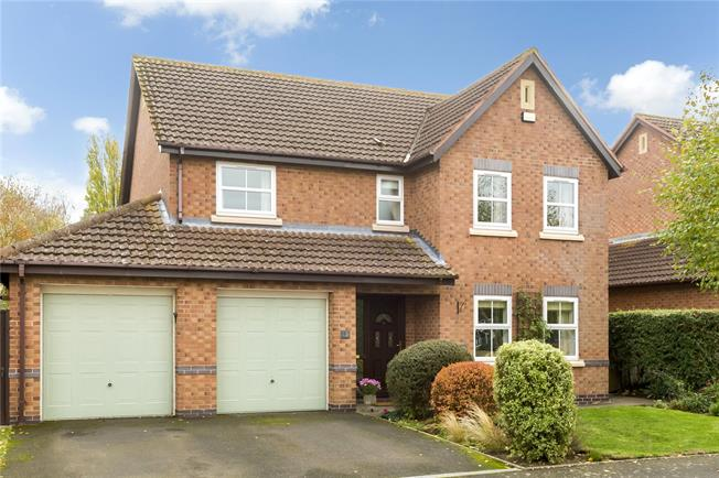 Guide Price £475,000, 4 Bedroom Detached House For Sale in Warwick, CV35