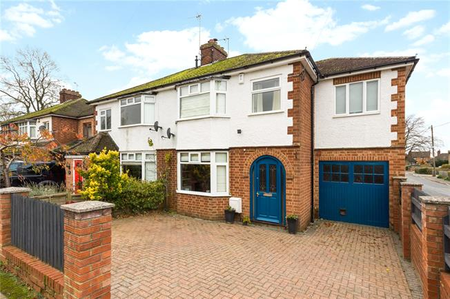 Guide Price £360,000, 4 Bedroom Semi Detached House For Sale in Middleton Cheney, OX17