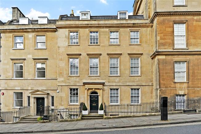 Guide Price £1,750,000, 5 Bedroom Terraced House For Sale in Bath, BA1
