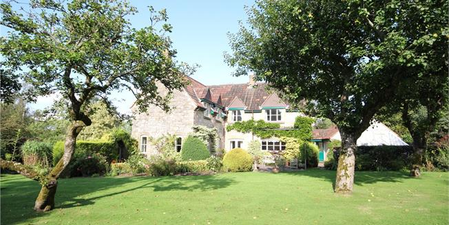 Guide Price £795,000, 5 Bedroom Detached House For Sale in Kilmersdon, BA3