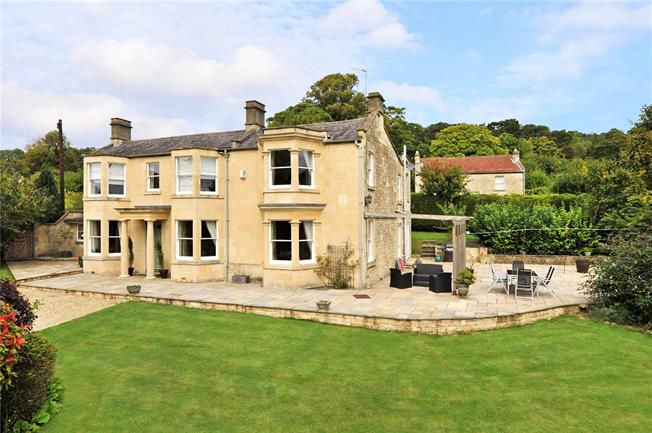Guide Price £1,350,000, 5 Bedroom Detached House For Sale in Bath, BA1