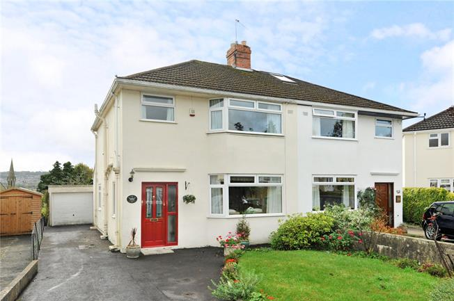 Guide Price £499,950, 3 Bedroom Semi Detached House For Sale in Bath, BA1