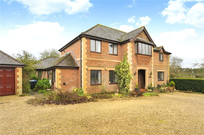 Guide Price £900,000, 5 Bedroom Detached House For Sale in Steeple Ashton, Wiltshire, BA14