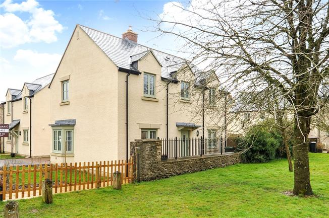 Guide Price £475,000, 3 Bedroom Detached House For Sale in Gloucestershire, SN14