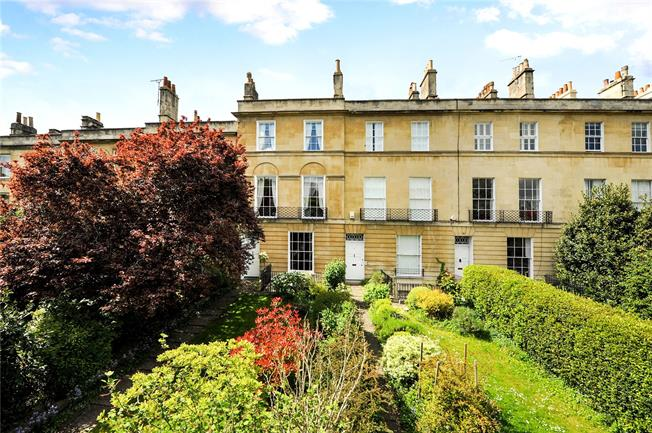 Offers in excess of £1,000,000, 4 Bedroom Terraced House For Sale in Bath, BA1