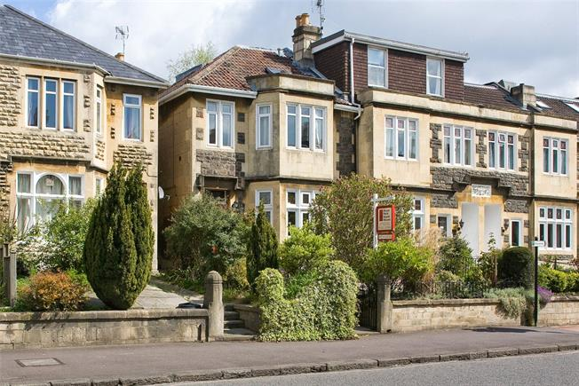 Guide Price £750,000, 4 Bedroom End of Terrace House For Sale in Bath, BA1