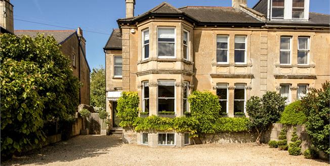 Guide Price £1,400,000, 5 Bedroom Semi Detached House For Sale in Bath, BA1