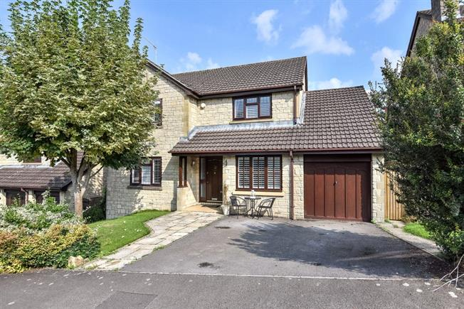 Guide Price £585,000, 4 Bedroom Detached House For Sale in Bathford, BA1