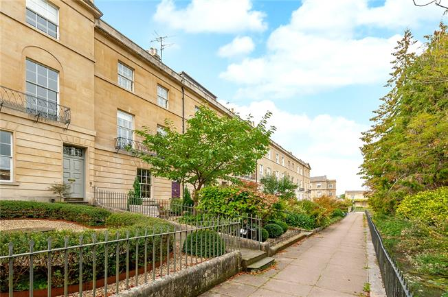 Guide Price £1,300,000, 3 Bedroom Terraced House For Sale in Bath, BA2