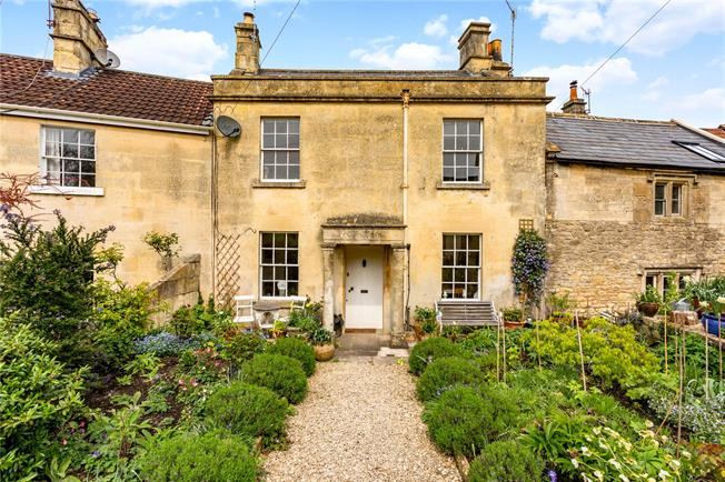 Guide Price £425,000, 2 Bedroom Terraced House For Sale in Bathford, BA1