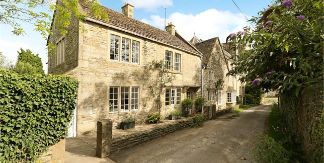 Guide Price £895,000, 4 Bedroom Semi Detached House For Sale in Biddestone, SN14
