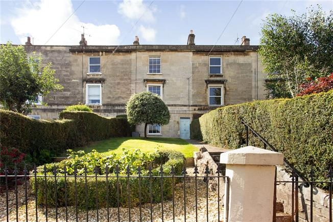 Guide Price £900,000, 3 Bedroom Terraced House For Sale in Bath, BA2