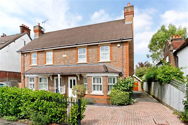 Guide Price £1,125,000, 4 Bedroom Semi Detached House For Sale in Beaconsfield, HP9